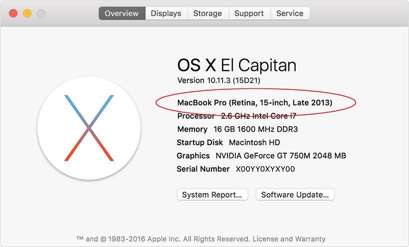 Check OS X Version