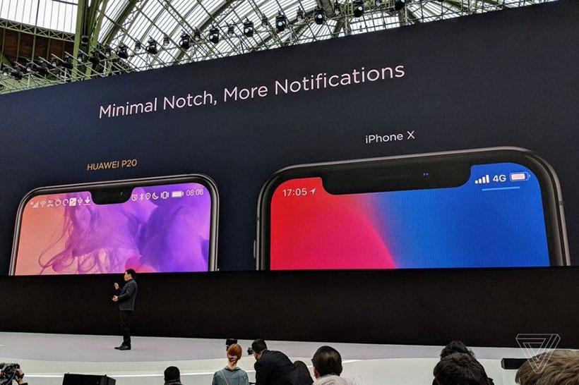 Huawei notch game