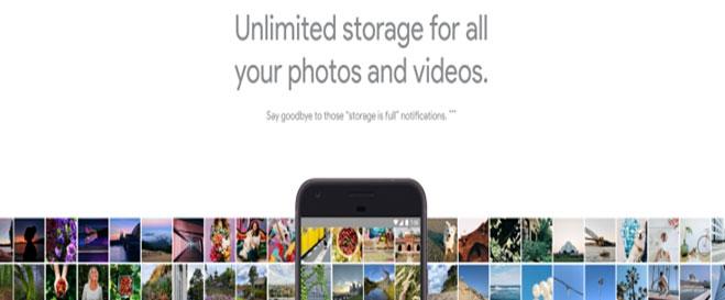Google free storage