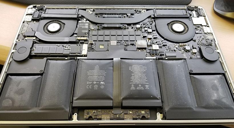 MacBook Pro Battery Recall