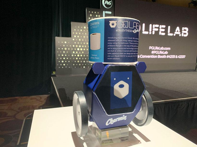 CES 2020 Charmin robot