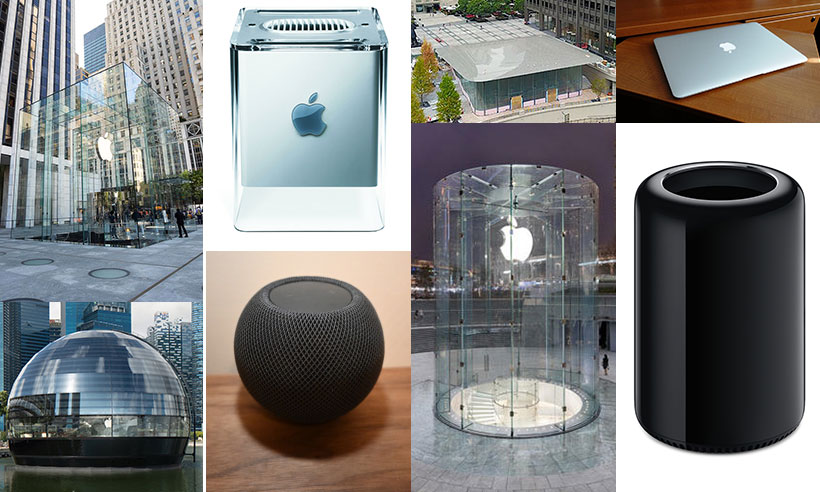 Apple Product shaped buildings
