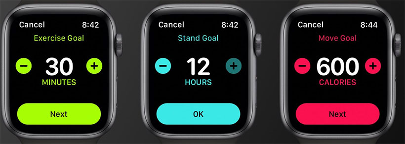 Apple Watch Move Goals