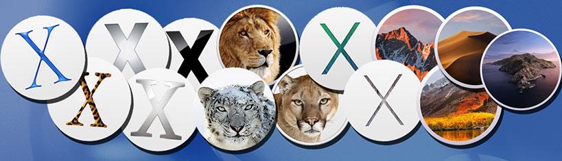 macOS X 20th Anniversary