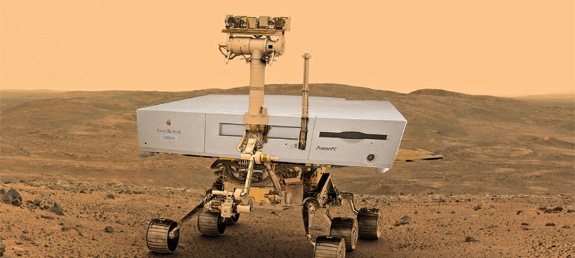Mars Opportunity Rover Power Mac 6100
