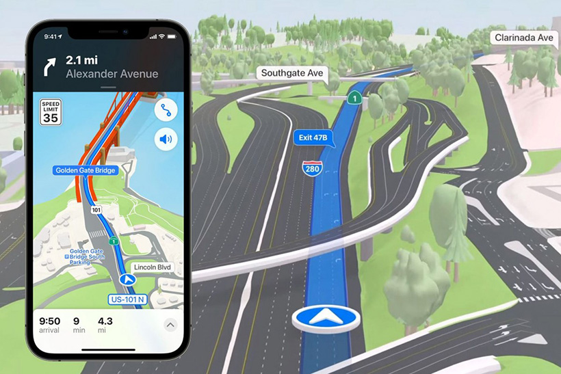 Maps Redesign in iOS 15